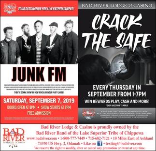 Junk FM / Crack The Safe