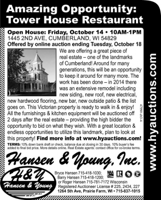 Tower House Restaurant