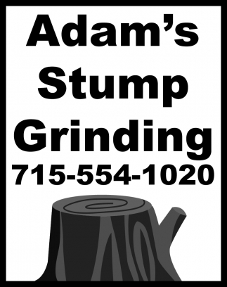Adam's Stump Grinding