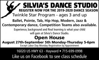 Register Now For The 2019-2020 Dance Season