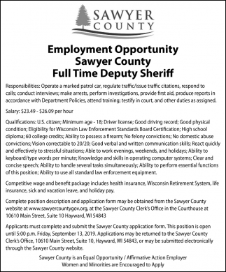 Sawyer County Record | apg-wi com