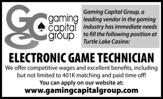 Electronic Game Technician