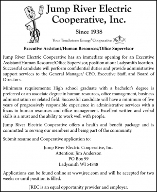 Executive Assistant / Human Resources / Office Supervisor