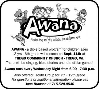 Awana - Bible Based Program
