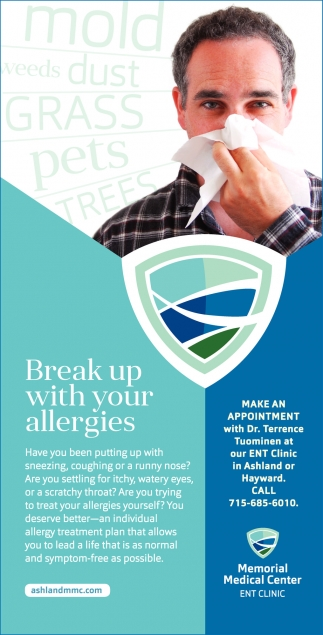 Break up with your allergies