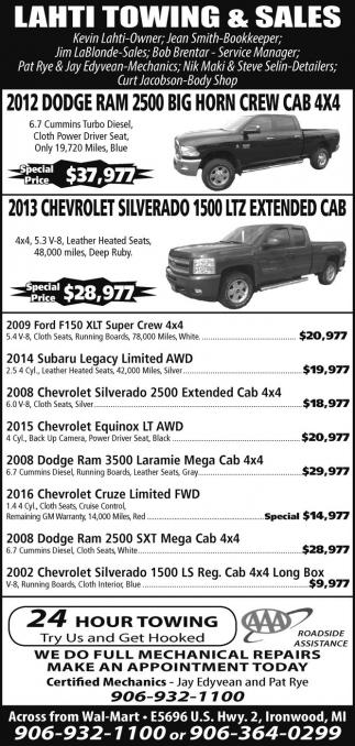 Dodge - Chevrolet