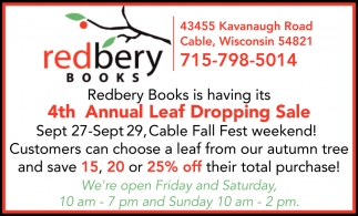 4th Annual Leaf Dropping Sale