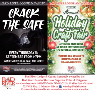 Crack The Safe / Annual Holiday Craft Fair