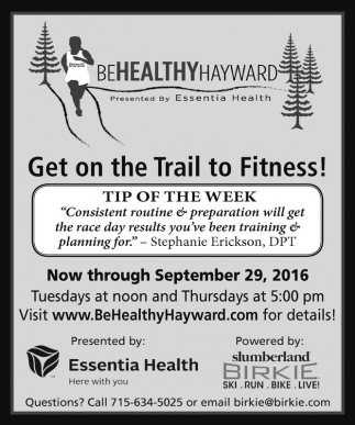 Get on the Trail to Fitness!