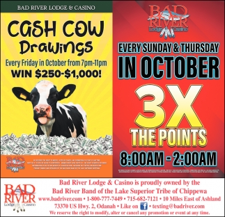 Cash Cow Drawings / 3X The Points