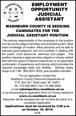 Judicial Assistant