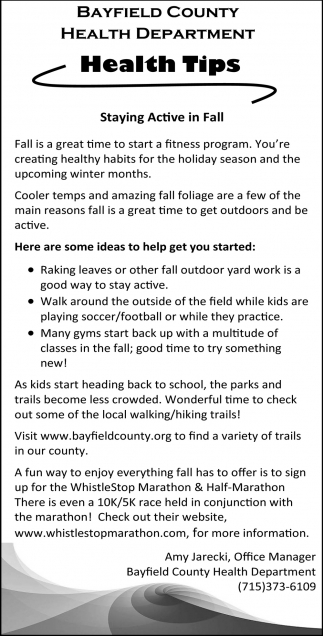 Staying Active in Fall
