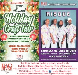 Annual Holiday Craft Fair / Risque