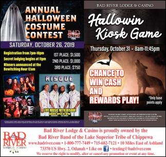 Annual Halloween Costume Contest / Hallowin Kiosk Game
