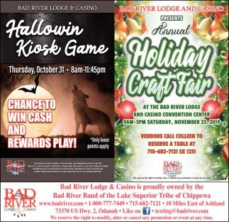 Hallowin Kiosk Game / Annual Holiday Craft Fair