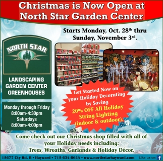 Christmas is Now Open