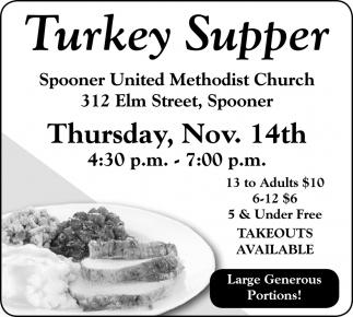 Turkey Supper