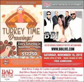 Turkey Time Drawings / BBI
