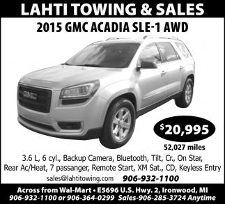 2015 GMC Acadia SLE-1 AWD