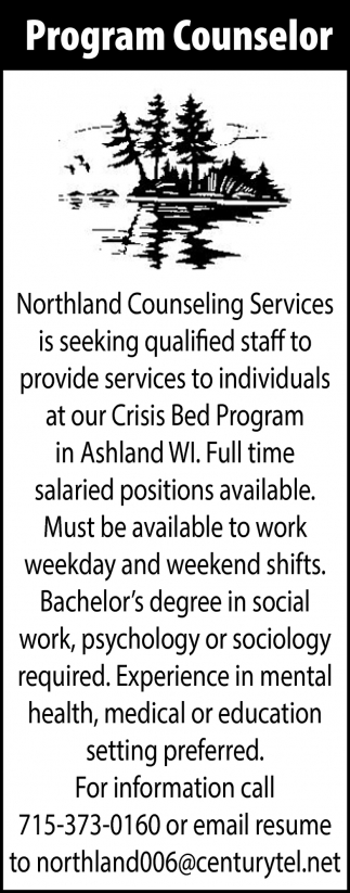 Program Counselor