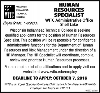 Human Resources Specialist