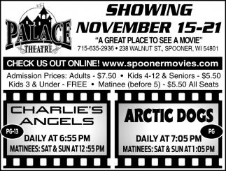Showing November 15 - 21