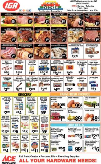 Your Hometown Grocery Stores
