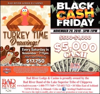 Turkey Time Drawings! / Black Cash Friday