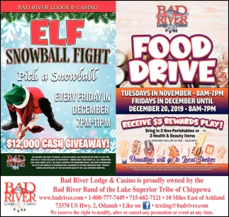 ELF Snowball Fight / Food Drive