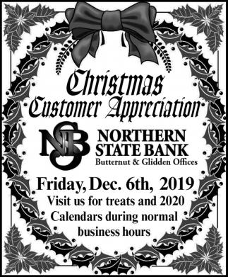 Christmas Customer Appreciation