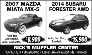 Mazda - Subaru