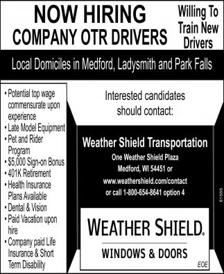 Company OTR Drivers