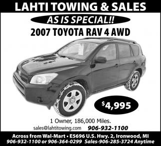 2007 Toyota RAV 4 AWD