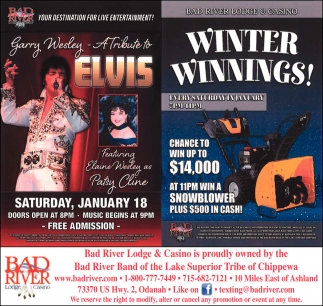 A Tribue to Elvis / Winter Winnings