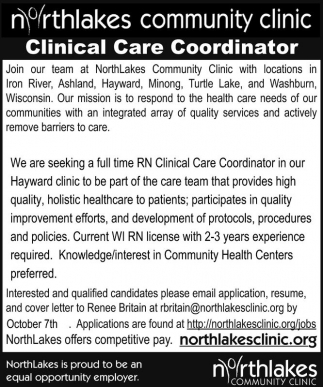 Clinical Care Coordinator