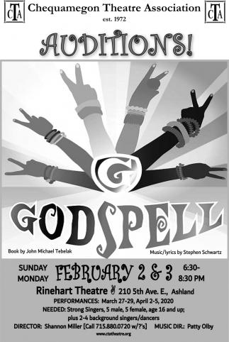 Auditions! Godspell