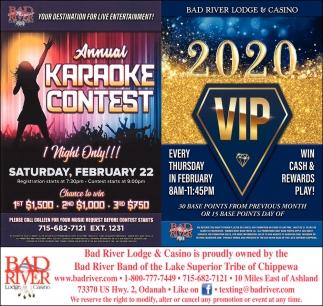 Annual Karaoke Contest / 2020 VIP