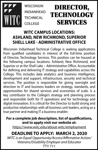 Director, Technology Services