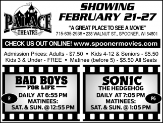 Showing February 21 - 27