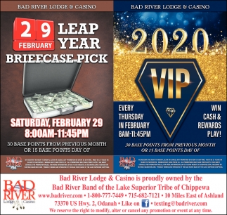 Leap Year Briefcase Pick / 2020 VIP