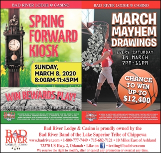 Spring Forward Kiosk / March Mayhem Drawings