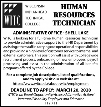 Human Resources Technician