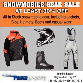 Snowmobile Gear Sale