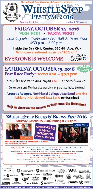 Whistle Stop Festival 2016