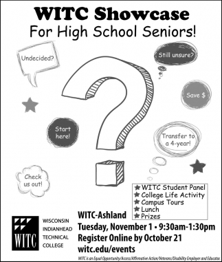 WITCH Showcase For High School Seniors