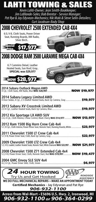 Chevrolet, Dodge