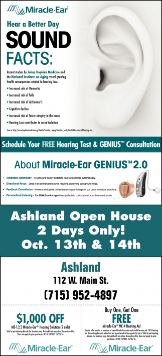 Ashland Open House 2 Days Only!