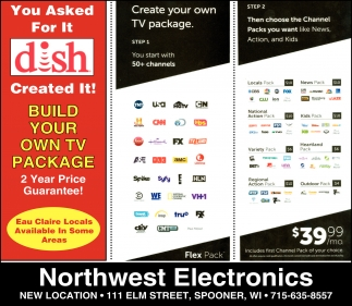 Create you own TV package