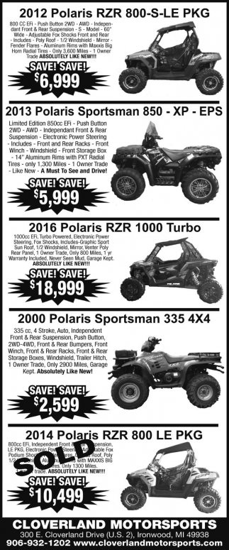 Polaris SAVE