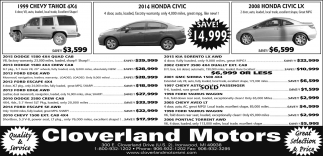 Chevy, Honda